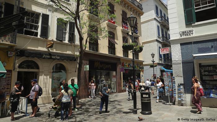 Гибралтар, в старом городе