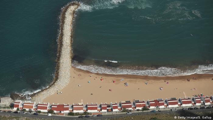 Пляж на Гибралтаре