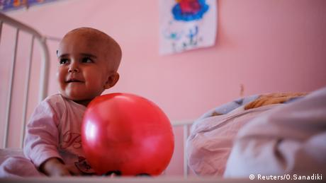 Childrens' cancer ward in Syria