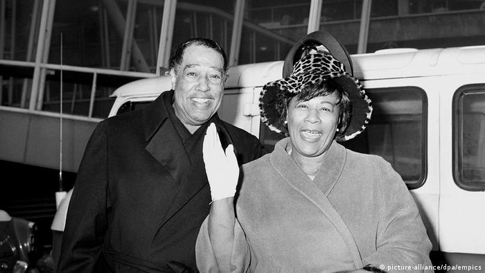 Duke Ellington and Ella Fitzgerald in London (picture-alliance/dpa/empics)