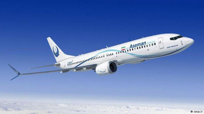 Aseman Airlines kauft 60 Boeings (isna.ir)