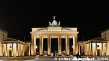 La Puerta de Brandeburgo.