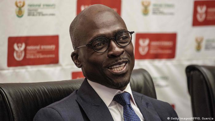 Malusi Gigaba neuer Finanzminister Südafrika (Getty Images/AFP/G. Guercia)
