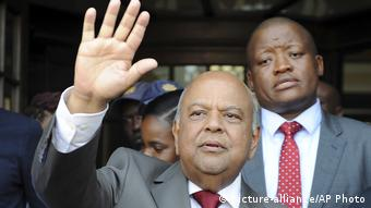 Pravin Gordhan ehemaliger Finanzminister Südafrika (picture-alliance/AP Photo)