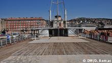 1. Titos Schiff Galeb 2. Titos Schiff Galeb wird Museum in Rijeka, Kroatien 3. Copyrights: D. Romac/DW 4. Rijeka, April 2017