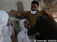 Жертвы химической атаки в сирийском городе Хан-Шейхун