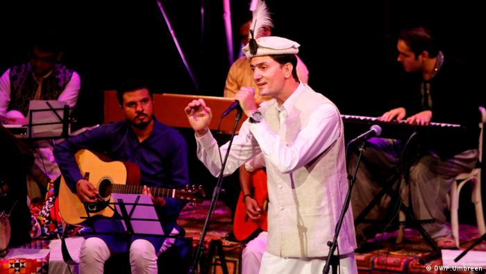 Internationales Theater und Musik Festival in Karachi Pakistan (DW/F.Umbreen)