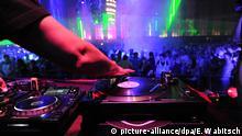 Symbolbild Disco Nachtclub DJ