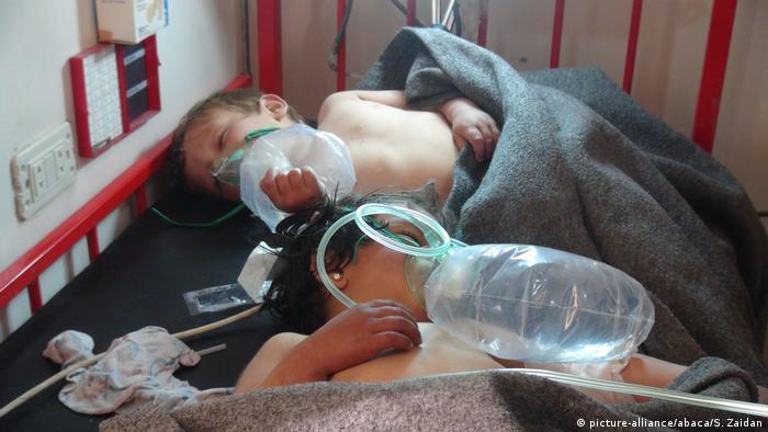 Syrien Idlib Giftgasangriff