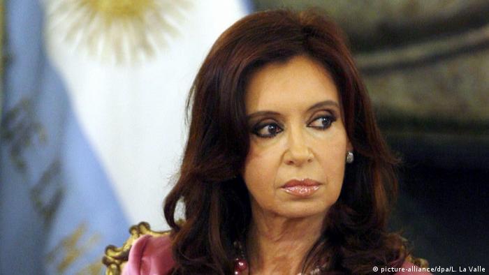 Cristina Fernandez de Kirchner ehemalige Präsidnentin Argentinien (picture-alliance/dpa/L. La Valle)