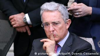Kolombiya'nın eski cumhurbaşkanlarından Alvaro Uribe