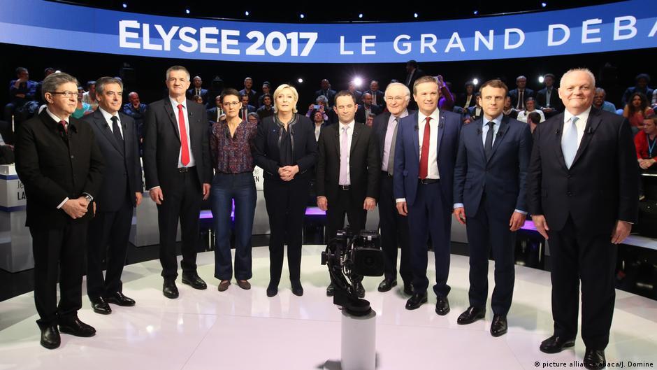 Франција  Безглаво пред изборите