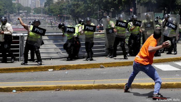 Venezuela Proteste in Caracas