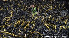 Peking Fahrräder Verleih Bike sharing (Getty Images/K.Frayer)