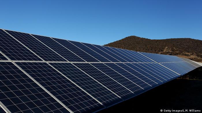 The Royalla Solar Farm in Canberra