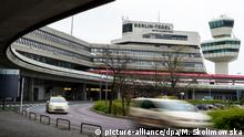 Tegel airport in Berlin
