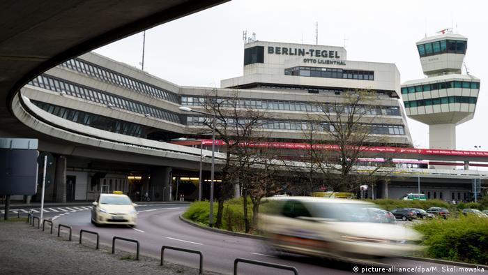 Tegel airport in Berlin