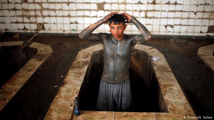 Irak Heilbad südlich von Mossul wurde wiedereröffnet (Reuters/S. Salem)