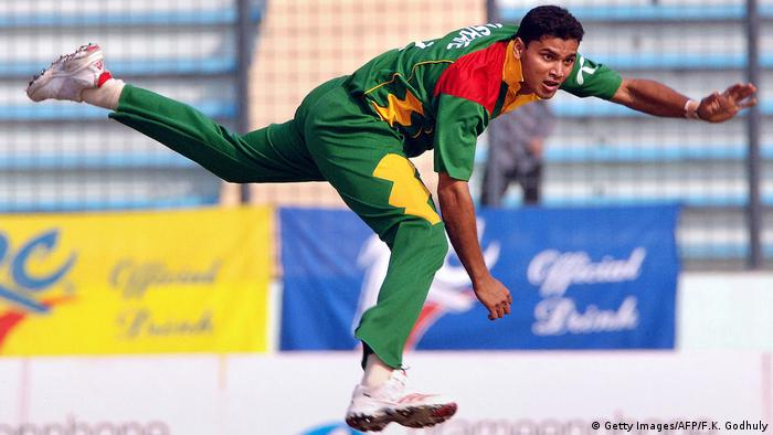 Bangladesch Cricket Mashrafe Mortaza (Getty Images/AFP/F.K. Godhuly)