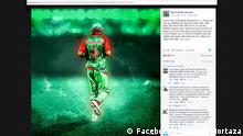 Screenshot Facebook Mashrafe Mortaza