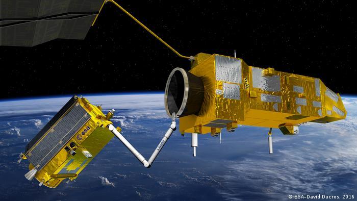 ESA Pressebilder - Müll im Weltraum