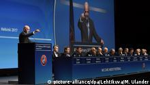 Finnland Helsinki UEFA Kongress