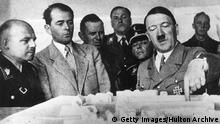 Architekt Albert Speer & Adolf Hitler 1936
