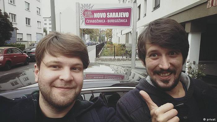 Krsto Lazarevic und Danijel Majic