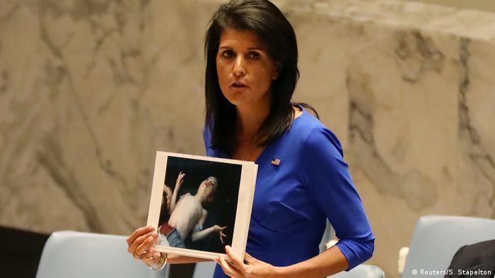 Ніккі Хейлі засудила росію за підтримку Асада
