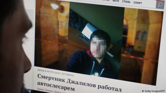 Russland St. Petersburg Akbarjon Djalilov (Getty Images/AFP)