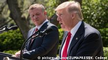 USA Washington Donald Trump und König Abdullah