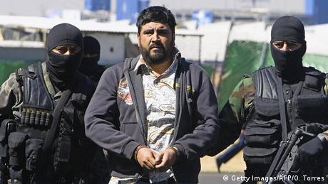 Mexiko Drogenboss Alfredo Beltran Leyva (Getty Images/AFP/O. Torres)