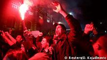 Serbien Proteste gegen Aleksandar Vucic in Belgrad