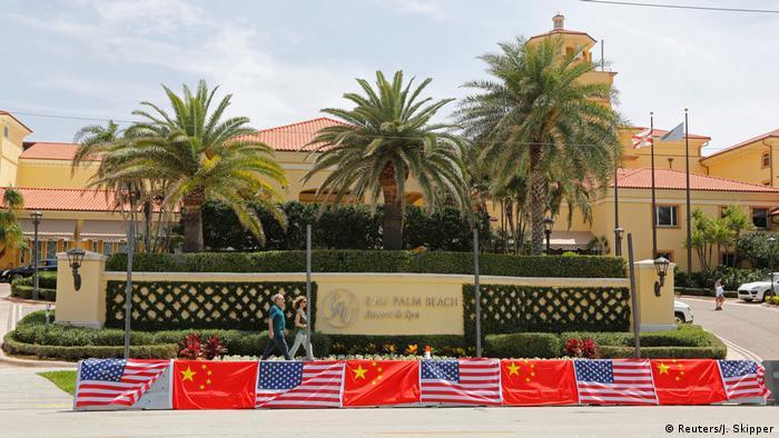 USA Besuch des Chinesischen Präsidenten Xi Jinping in Florida (Reuters/J. Skipper)