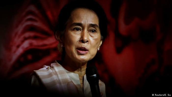 翁山苏姬驳回若开邦发生「种族清算」指控