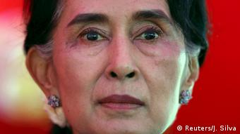 A Nobel da Paz Aung San Suu Kyi foi duramente criticada pelo silêncio durante a crise humanitária