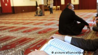 Ditib Merkez Mescidi Aksa Moschee (picture-alliance/dpa/M Brandt)