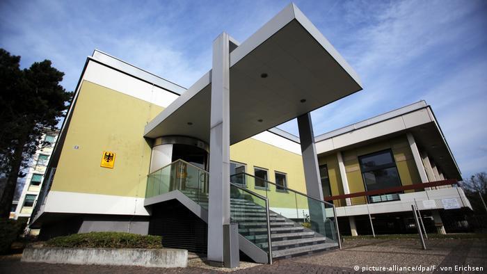 Deutschland Bundeskriminalamt in Wiesbaden (picture-alliance/dpa/F. von Erichsen)