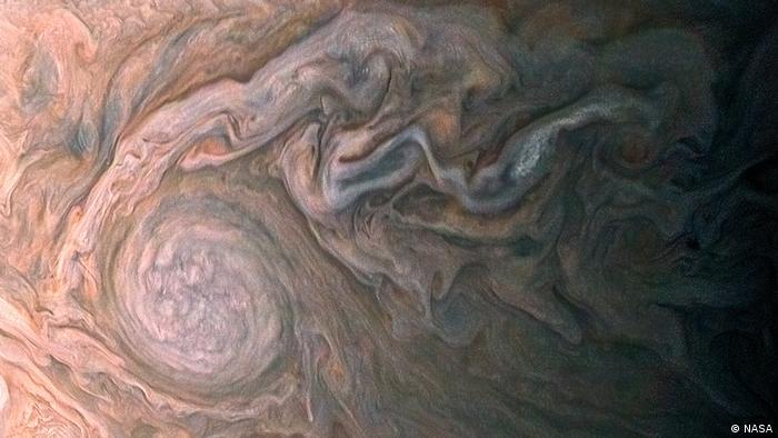 Jupiter Bilder der NASA-Sonde Juno (NASA)