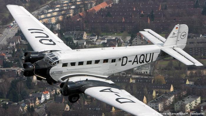 Ju 52 в небе над Гамбургом