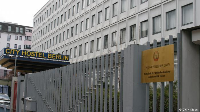 Nordkoreanische Botschaft in Berlin (DW/H.Kiesel)