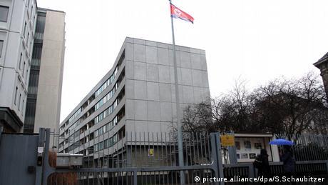 The North Korean embassy in Berlin, Germany