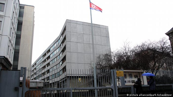The North Korean embassy in Berlin, Germany