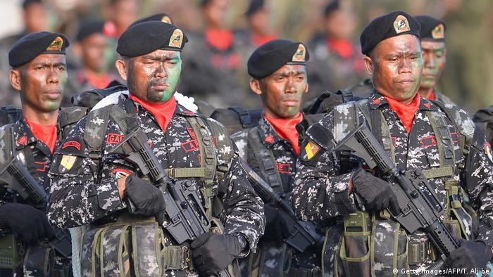 Philippinen Soldaten in Manila (Getty Images/AFP/T. Aljibe)