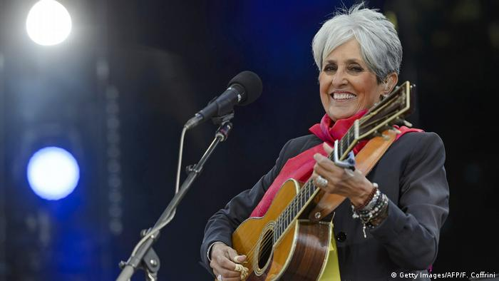 Schweiz Joan Baez (Getty Images/AFP/F. Coffrini)