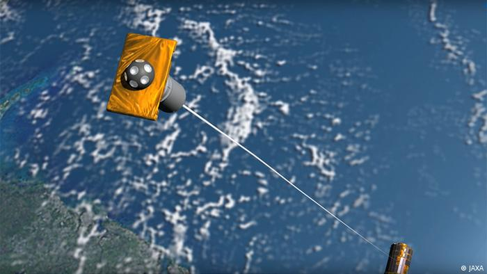 KITE - Kounotori Integrated Tether Experiment (JAXA)