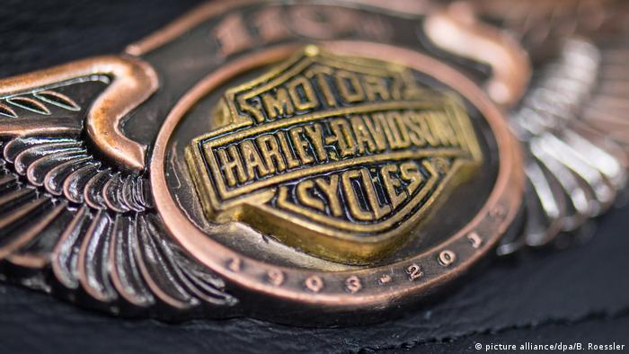 Логотип компании Harley Davidson