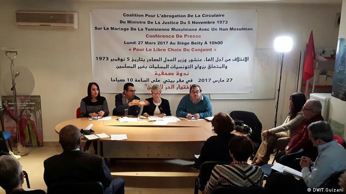 Heirat zwischen verschiedenen Religionen Tunesien (DW/T.Guizani)