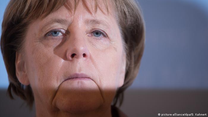 Konferenz ostdeutscher Ministerpräsidenten - Angela Merkel