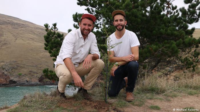 Trump Forest Initiative Gründer Dan Price und Adrien Taylor